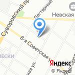 Средняя общеобразовательная школа №178 на карте Санкт-Петербурга