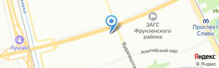 Белая Лошадь на карте Санкт-Петербурга