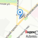 Эксперт-Строй на карте Санкт-Петербурга