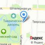 Таврическая 35 на карте Санкт-Петербурга
