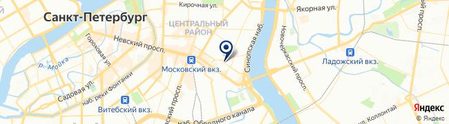 Расположение клиники МЦ Гайде на Херсонской
