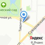 Творческая мастерская Александра Бартова на карте Санкт-Петербурга
