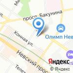 Инвестиции и Инновации на карте Санкт-Петербурга