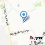 Центральная усадьба на карте Санкт-Петербурга