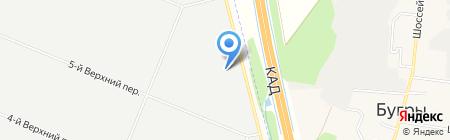 В-Кран на карте Санкт-Петербурга