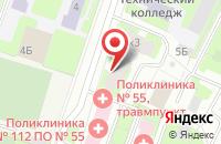 Схема проезда до компании Синяя Птица в Санкт-Петербурге