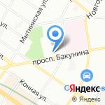 Инстрим на карте Санкт-Петербурга