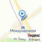 Магазин женской одежды и кожгалантереи на карте Санкт-Петербурга