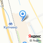 Мариэль на карте Санкт-Петербурга