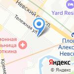Магазин искусственных цветов на карте Санкт-Петербурга