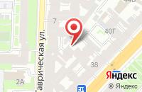 Схема проезда до компании Абв в Санкт-Петербурге