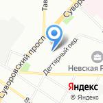 ХЕМА на карте Санкт-Петербурга