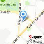 НАРАН на карте Санкт-Петербурга