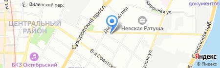 Ricci на карте Санкт-Петербурга