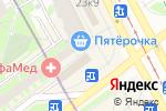 Схема проезда до компании Магазин текстиля и одежды в Санкт-Петербурге