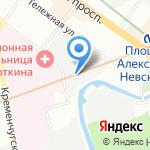 ТемпЛТД на карте Санкт-Петербурга
