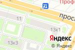 Схема проезда до компании Мета в Санкт-Петербурге