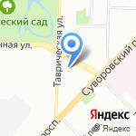 Модный дом Лилии Киселенко на карте Санкт-Петербурга