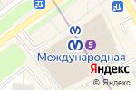 Схема проезда до компании Burka в Санкт-Петербурге