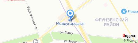Банкомат Балтийский Банк на карте Санкт-Петербурга