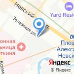 Строймонтаж на карте Санкт-Петербурга