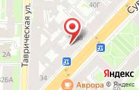 Схема проезда до компании Третье Тысячелетие в Санкт-Петербурге