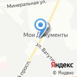 Данила-Мастер на карте Санкт-Петербурга