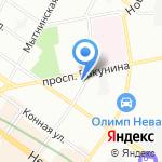 Санкт-Петербургский пожарно-технический экспертный центр на карте Санкт-Петербурга