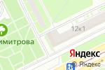 Схема проезда до компании Claristore.ru в Санкт-Петербурге