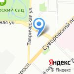 Петро-отель на карте Санкт-Петербурга