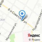 Пивные погреба Крюгера на карте Санкт-Петербурга