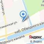Акелит на карте Санкт-Петербурга