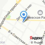 АвтоОценка на карте Санкт-Петербурга