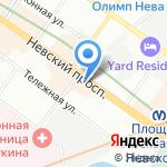 КСГ Инжиниринг на карте Санкт-Петербурга