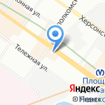 Неваэласт на карте Санкт-Петербурга