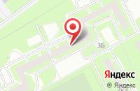Схема проезда до компании Метис в Санкт-Петербурге