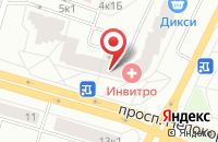 Схема проезда до компании БелГарант-Строй в Белгороде