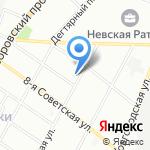 Дети с иголочки на карте Санкт-Петербурга