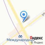 Магазин цветов на карте Санкт-Петербурга