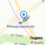 Гарант Пожарной Безопасности на карте Санкт-Петербурга