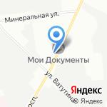 Межрайонный наркологический диспансер №1 на карте Санкт-Петербурга