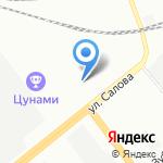 Анклав на карте Санкт-Петербурга