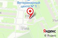 Схема проезда до компании Джентльменъ в Санкт-Петербурге