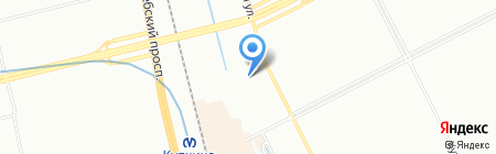 Шиномонтажная мастерская на Малой Балканской на карте Санкт-Петербурга
