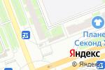 Схема проезда до компании Золотая Корона в Санкт-Петербурге