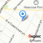 Детская городская поликлиника №44 на карте Санкт-Петербурга