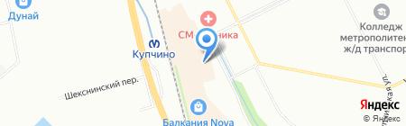 7 Пядей на карте Санкт-Петербурга
