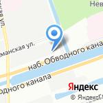 Евротрэк-Авто на карте Санкт-Петербурга