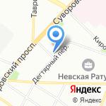 С1 на карте Санкт-Петербурга
