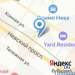 ЭМЦ на карте Санкт-Петербурга